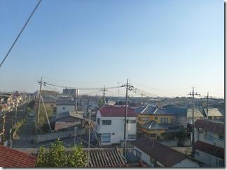 鴻巣市富士見町N様 東京スカイツリー方向の景色(完了)。