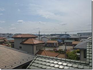 行田市藤原町N様 東京スカイツリー方向の景色(完了)。