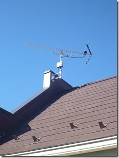 行田市小針N様 アンテナ工事完了。