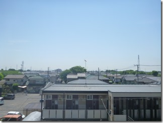 久喜市栗原N様 東京スカイツリー方向の景色(完了)。