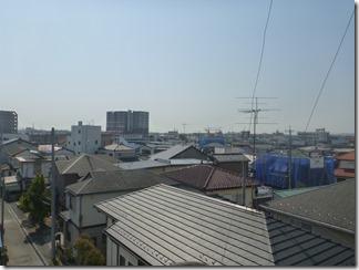 鴻巣市吹上本町N様 東京スカイツリー方向の景色。