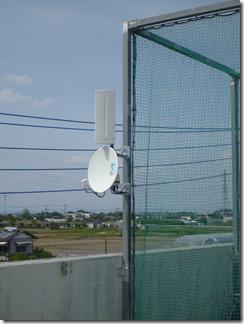 鴻巣市関新田O様 アンテナ工事完了。