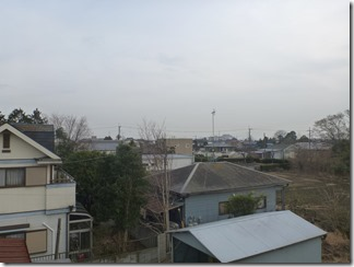 鴻巣市関新田O様 東京スカイツリー方向の景色(完了)。