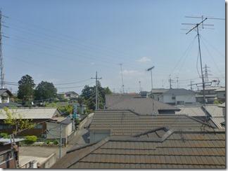 嵐山町平澤S様 東京スカイツリー方向の景色(完了)。