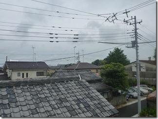 鴻巣市宮前S様 東京スカイツリー方向の景色(完了)。