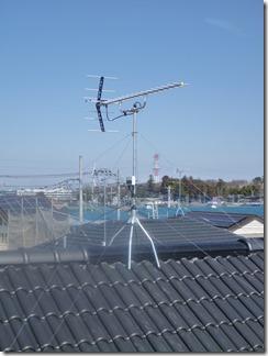 桶川市坂田S様 アンテナ工事完了。