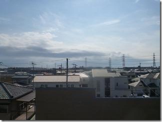 桶川市坂田S様 東京スカイツリー方向の景色(完了)。