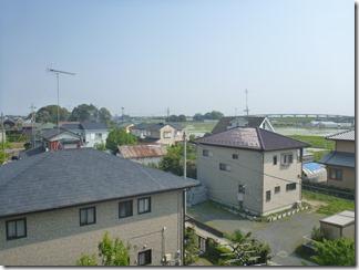 加須市麦倉S様 東京スカイツリー方向の景色(完了)。