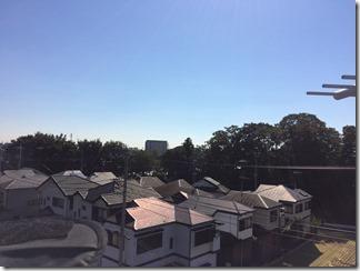 鴻巣市下忍S様 東京スカイツリー方向の景色。