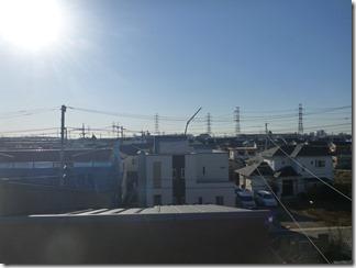 桶川市坂田S様 東京スカイツリー方向の景色。