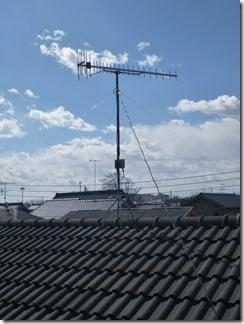 深谷市宿根S様 アンテナ工事完了。