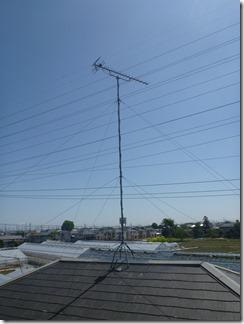 鴻巣市屈巣S様 アンテナ工事完了。