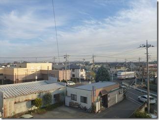 行田市向町S様 東京スカイツリー方向の景色(完了)。