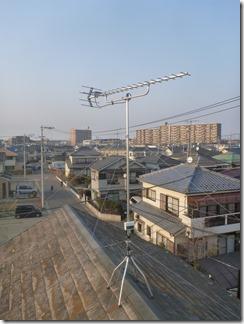 鴻巣市箕田T様 アンテナ工事完了。