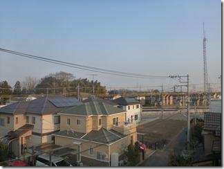 鴻巣市箕田T様 東京スカイツリー方向の景色(完了)。