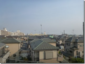 鴻巣市小松T様 東京スカイツリー方向の景色(完了)。
