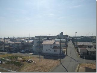 羽生市西T様 東京スカイツリー方向の景色(完了)。