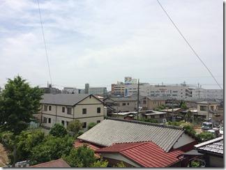 久喜市久喜北T様 東京スカイツリー方向の景色(完了)。