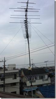 鴻巣市本町T様 アンテナ工事完了。