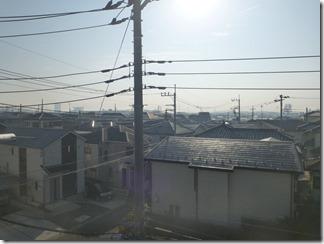 桶川市上日出谷T様 東京スカイツリー方向の景色。