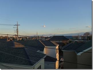 桶川市坂田東T様 東京スカイツリー方向の景色。