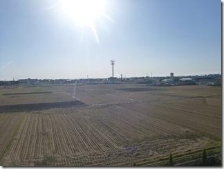 行田市若小玉T様 東京スカイツリー方向の景色(完了)。