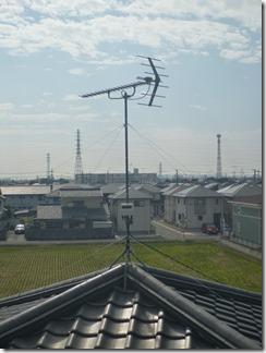 行田市城西U様 アンテナ工事完了。