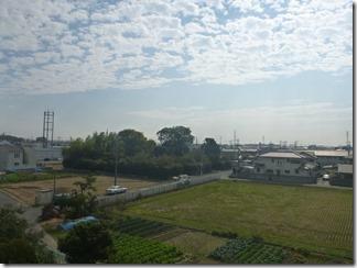 行田市城西U様 東京スカイツリー方向の景色(完了)。