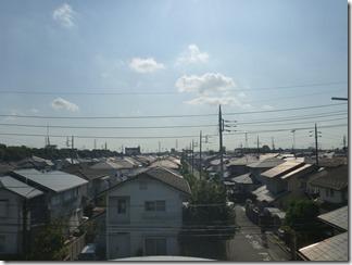 鴻巣市赤見台U様 東京スカイツリー方向の景色。