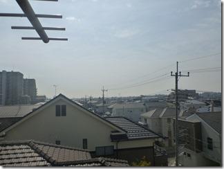 鴻巣市逆川Y様 東京スカイツリー方向の景色(完了)。