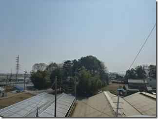 鴻巣市北根Y様 東京スカイツリー方向の景色(完了)。
