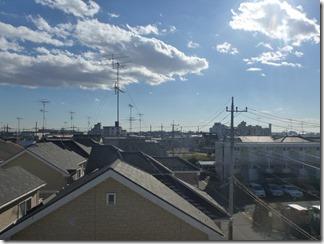羽生市西Y様 東京スカイツリー方向の景色(完了)。