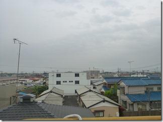 行田市佐間K様 東京スカイツリー方向の景色。