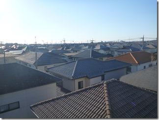 久喜市久喜東S様 東京スカイツリー方向の景色。