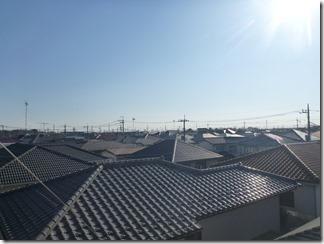 久喜市久喜東S様 東京スカイツリー方向の景色(完了)。