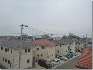 深谷市常盤町M様 東京スカイツリー方向の景色(完了)。