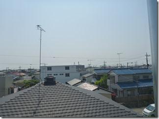 行田市佐間K様 東京スカイツリー方向の景色(完了)。