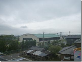 鴻巣市鎌塚H様 東京スカイツリー方向の景色(完了)。