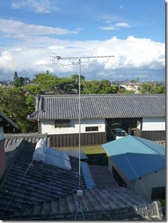 鴻巣市関新田I様 アンテナ工事完了。