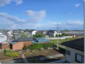 鴻巣市関新田I様 東京スカイツリー方向の景色(完了)。