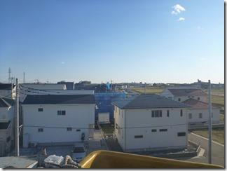 久喜市西大輪T様 東京スカイツリー方向の景色(完了)。