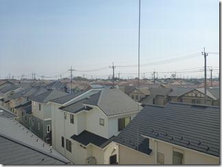 久喜市南栗橋K様 東京スカイツリー方向の景色(完了)。