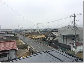 久喜市南栗橋I様 東京スカイツリー方向の景色(完了)。