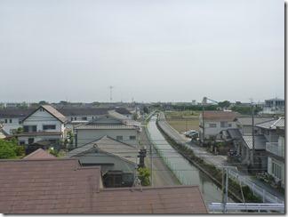 行田市長野S様 東京スカイツリー方向の景色(完了)。