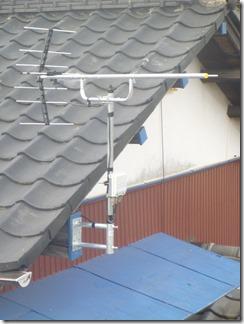 鴻巣市広田H様 アンテナ工事完了。