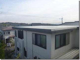 鳩山町楓ヶ丘K様 東京スカイツリー方向の景色(完了)。