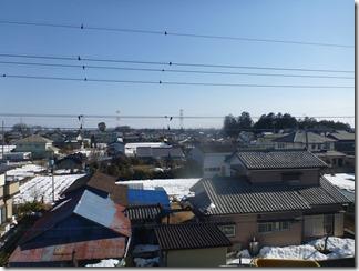 鴻巣市屈巣F様 東京スカイツリー方向の景色(完了)。