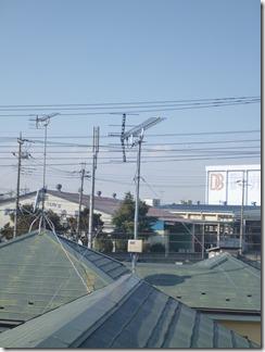 熊谷市村岡Y様 アンテナ工事完了。