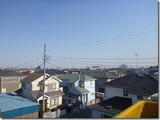 熊谷市村岡Y様 東京スカイツリー方向の景色(完了)。