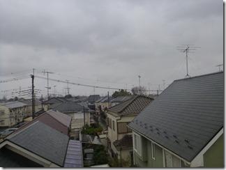 鴻巣市箕田K様 東京スカイツリー方向の景色。
